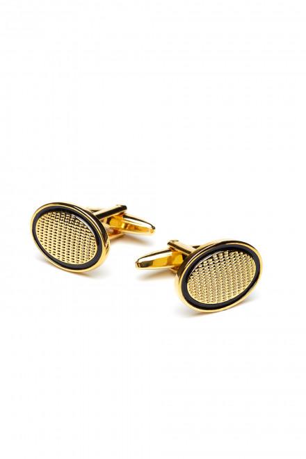 Запонки мужские золотистого цвета AEPCB Elizabeth Parker