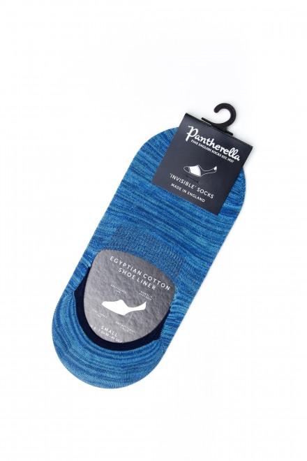 Шкарпетки чоловічі короткі сині Pantherella
