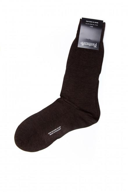 Шкарпетки чоловічі коричневі Pantherella