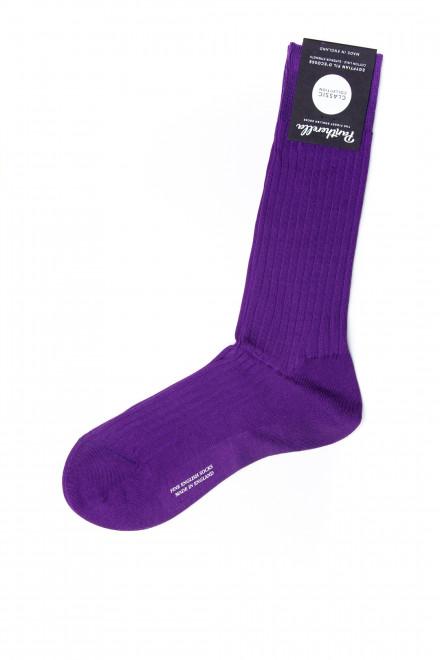 Носки мужские ярко-фиолетового цвета Pantherella