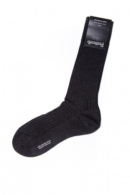 Носки мужские угольно-серые Pantherella