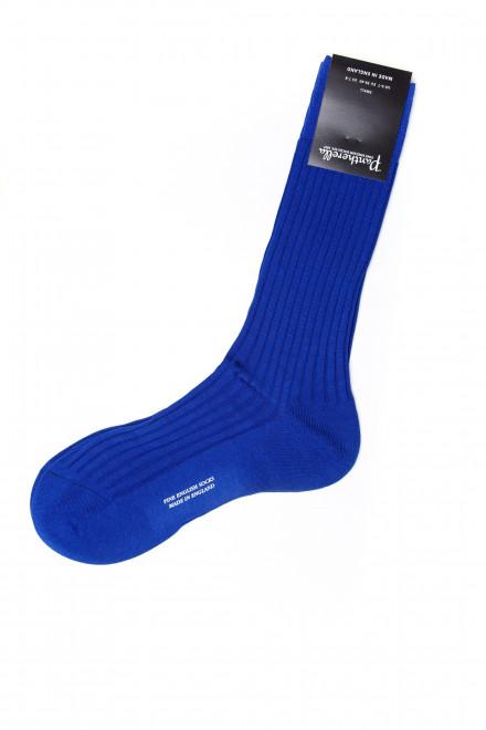Носки мужские ярко-синего цвета Pantherella