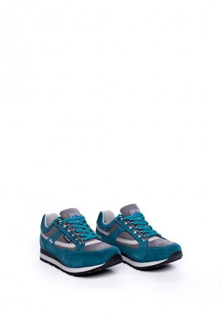 Кроссовки женские замшевые на шнуровке Lomer