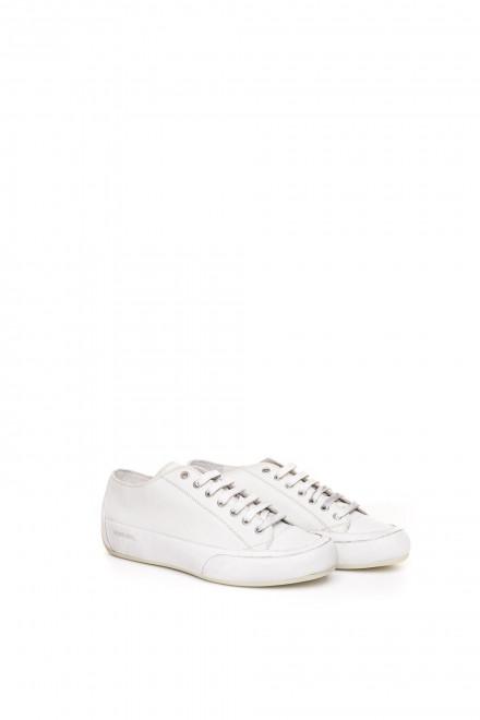 Туфли спортивные мужские белые на шнуровке Candice Cooper
