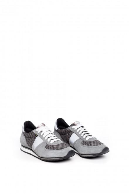 Туфли спортивные серые на шнуровке Botas