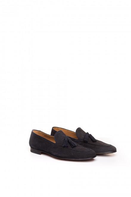Туфли мужские с перфорацией и кисточками Magnanni