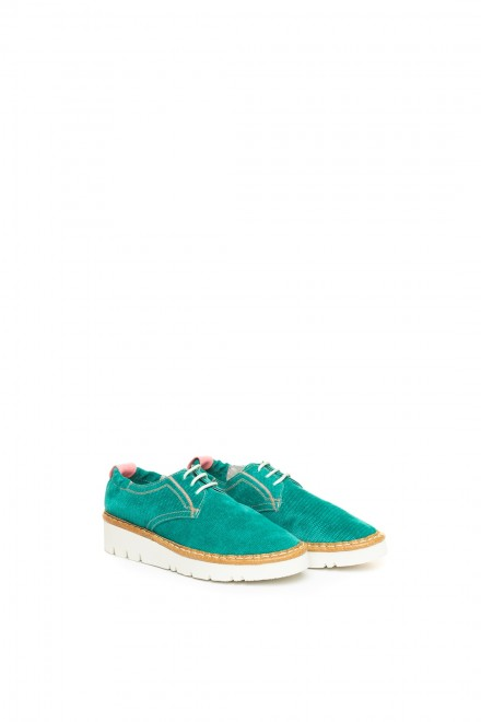 Туфлі жіночі смарагдового кольору Watson & Parker