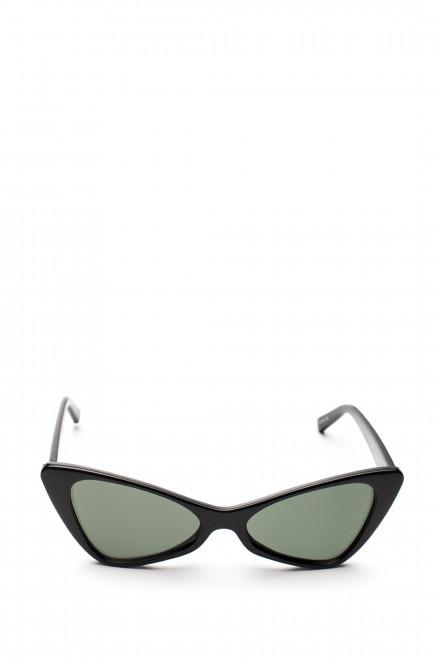 Солнцезащитные очки кошачий глаз и зеленым градиентом Le Specs