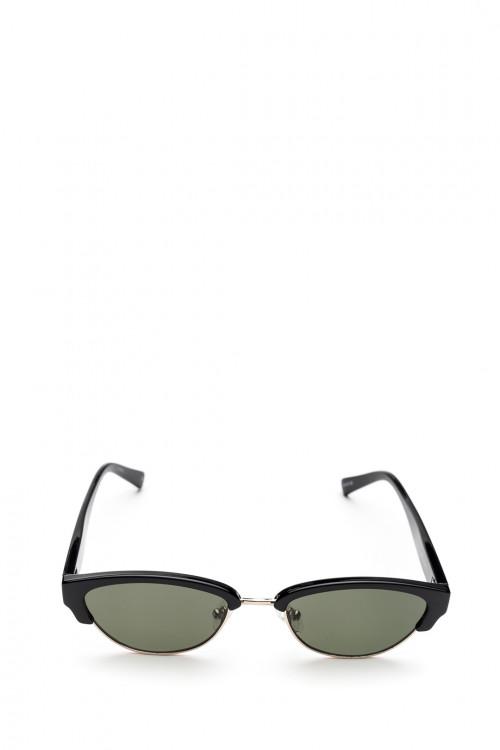 Сонцезащитные очки со встроенным металлическим ободком Le Specs