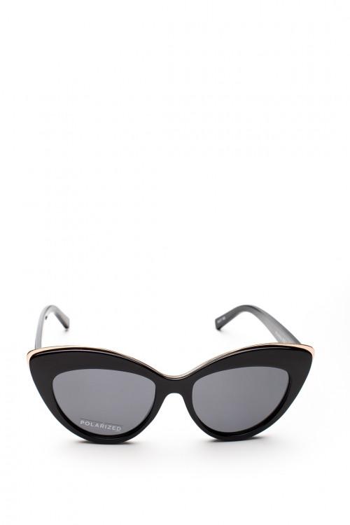 Солнцезащитные очки с верхней металлической рамкой Le Specs