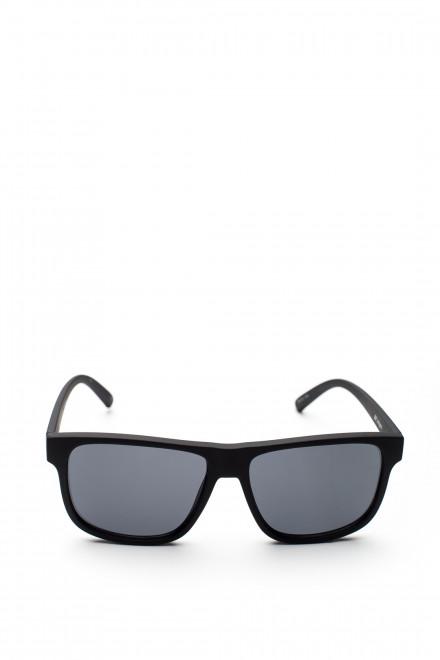 Солнцезащитные очки мужские квадратной формы в черной оправе Le Specs