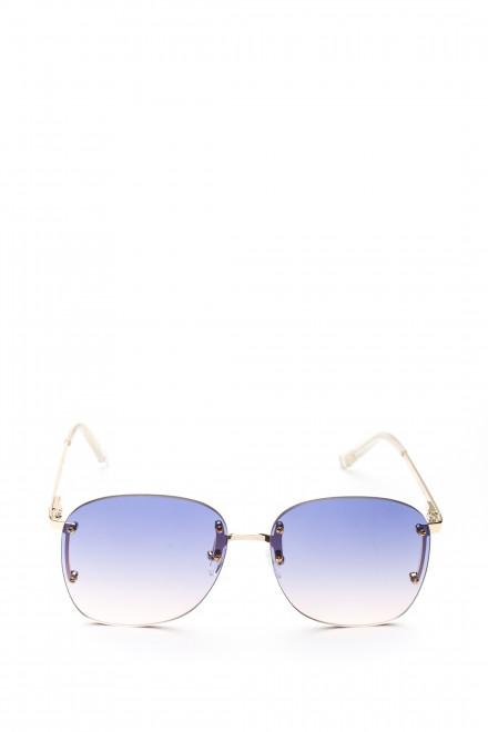 Солнцезащитные очки женские с синим градиентом Le Specs