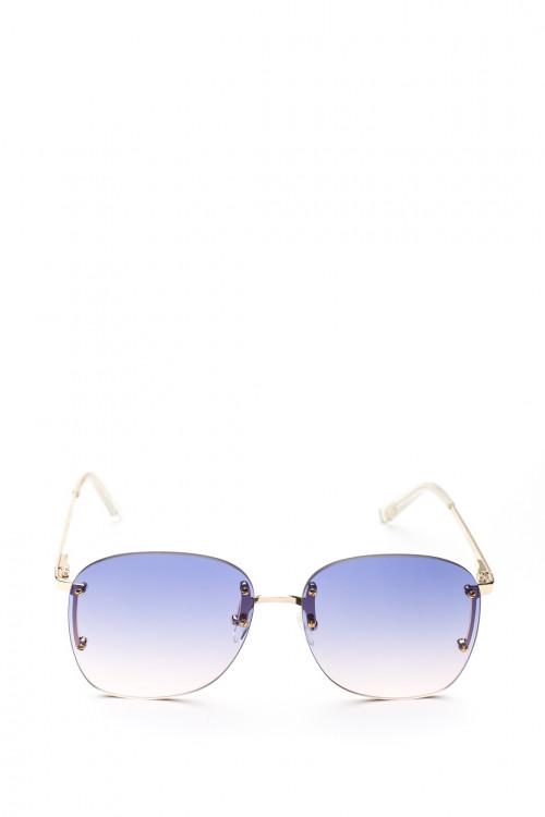 Сонцезахисні окуляри жіночі з синім градієнтом Le Specs
