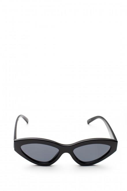 Солнцезащитные очки с серым градиентом и черной оправой Le Specs