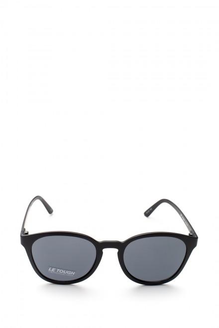 Солнцезащитные очки мужские черные с серым градиентом Le Specs