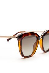 Сонцезахисні окуляри жіночі в плямистій оправі Le Specs 2