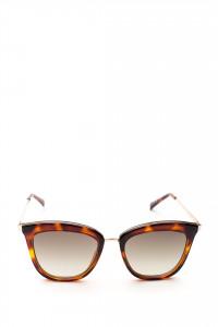 Сонцезахисні окуляри жіночі в плямистій оправі Le Specs