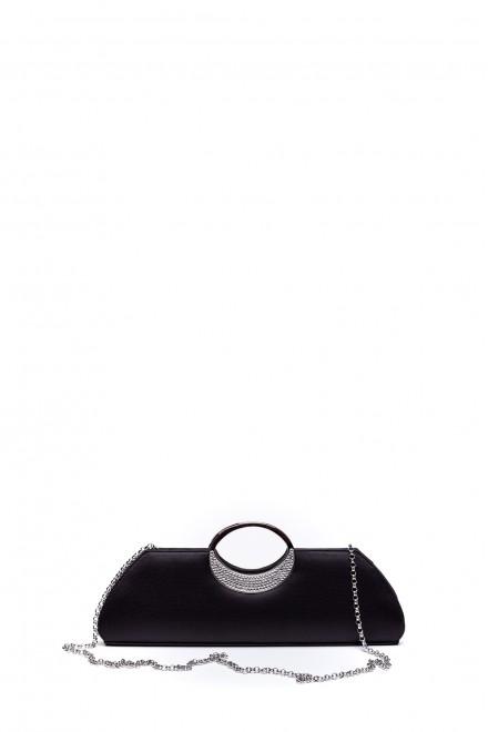 Сумка (клатч-ридикюль) женская черная Scheilan