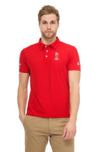 Футболка-поло мужская красная North Sails X Prada