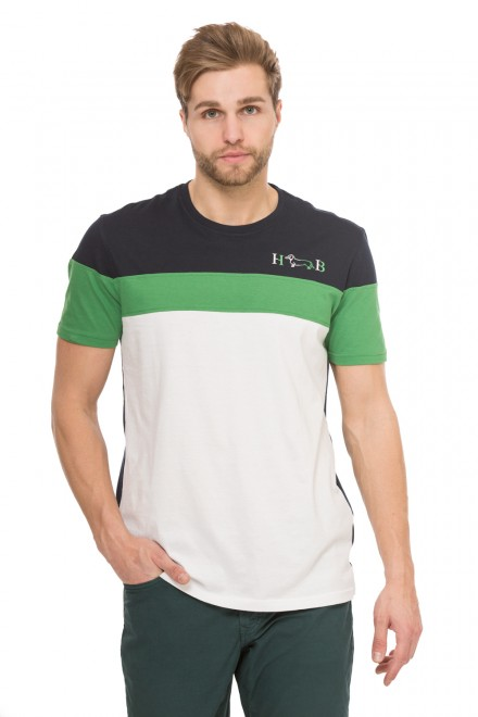 Мужская футболка с полосами Harmont & Blaine