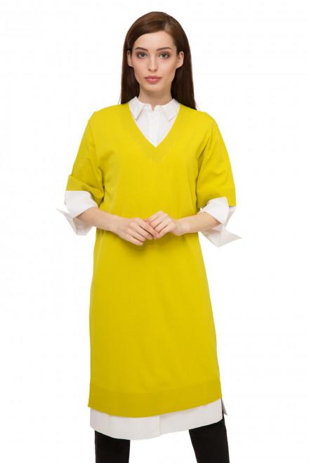 Платье женское желтого цвета UNQ