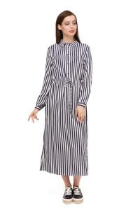 Платье женское полосатое UNQ