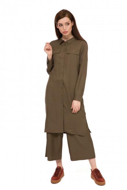 Плаття оливкового кольору UNQ
