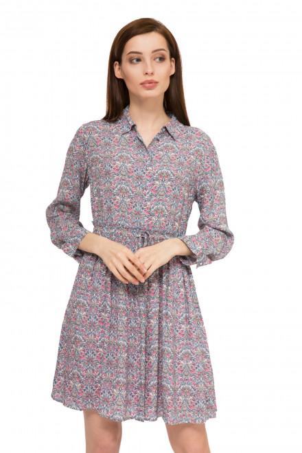 Платье женское с длинным рукавом и абстрактным принтом Rich & Royal