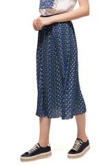 Юбка женская миди на резинке с ярким принтом  Rich & Royal