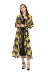 Платье с крупным принтом Beatrice .b 1