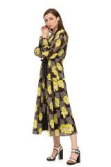 Платье с крупным принтом Beatrice .b 2