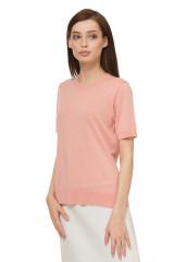 Пуловер женский пудрового цвета Steffen Schraut 1