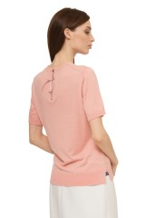 Пуловер женский пудрового цвета Steffen Schraut 2