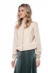 Пуловер женский с золотой полосой Liviana Conti 1