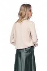 Пуловер женский с золотой полосой Liviana Conti 2