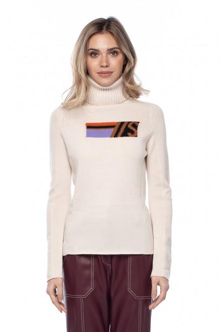 Пуловер женский с высоким горлом Sfizio