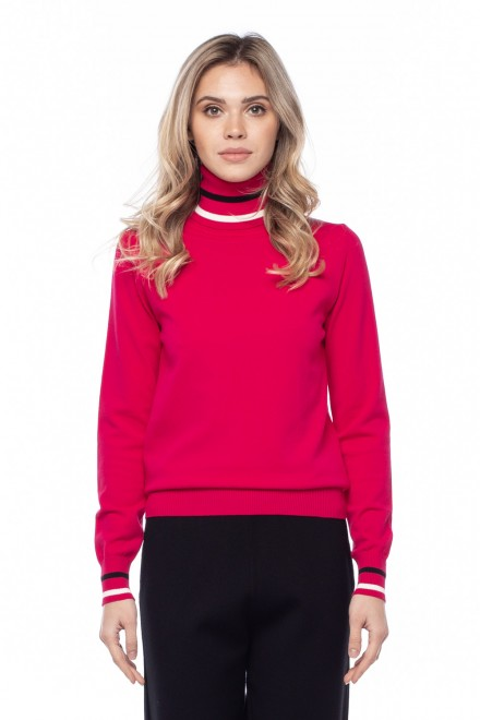 Пуловер женский цвета фуксия Sfizio