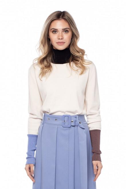 Пуловер женский с цветными вставками Beatrice .b