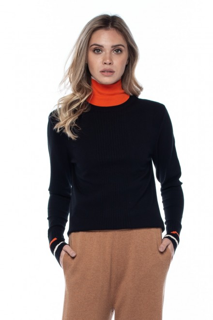 Пуловер черный Beatrice .b