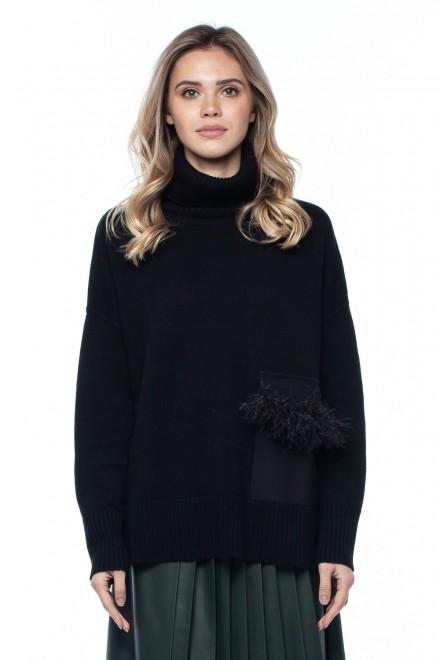 Пуловер женский с карманом Beatrice .b