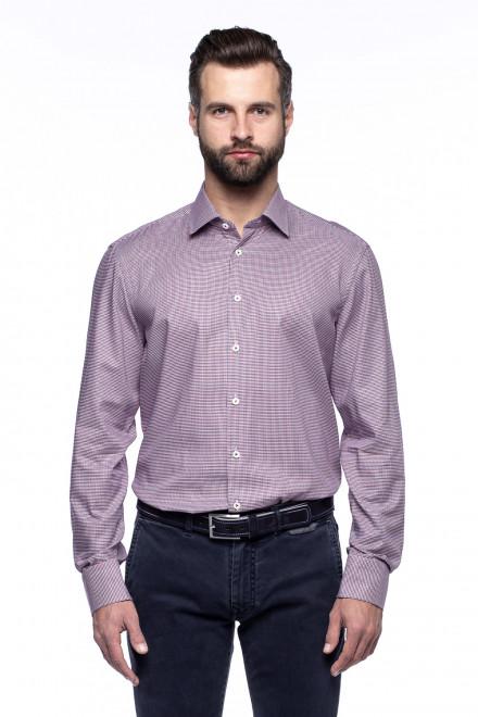 Рубашка мужская в мелкую клетку van Laack