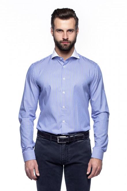 Рубашка мужская голубая в полоску van Laack