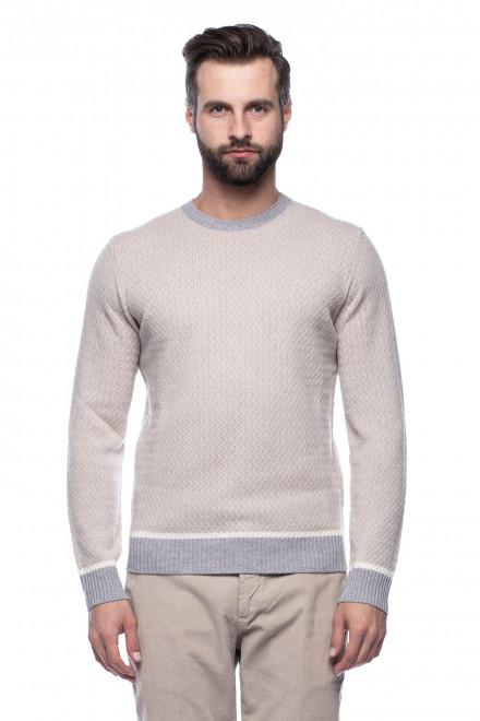 Пуловер молочного цвета Ferrante