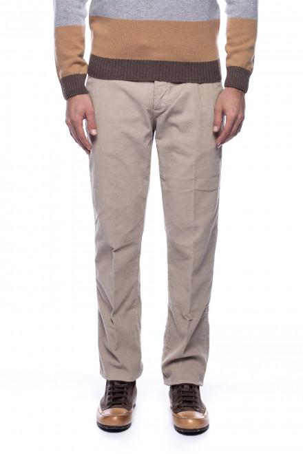 Мужские бежевые брюки Harmont & Blaine
