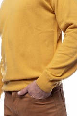 Гольф мужской желтый Harmont & Blaine 3