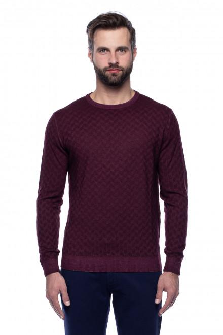 Пуловер бордовый Ferrante