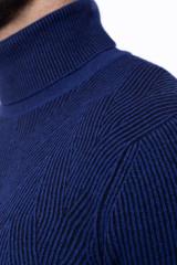 Гольф мужской синий Ferrante 3