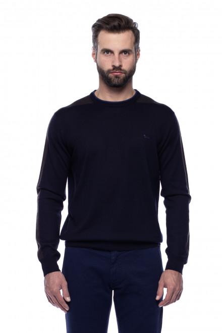 Пуловер темно-синий Harmont & Blaine