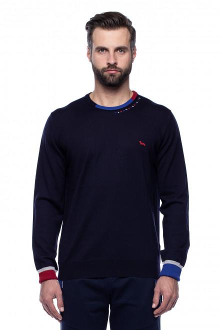 Пуловер с логотипом Harmont & Blaine