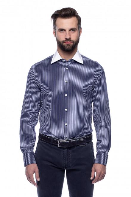 Рубашка с контрастным воротом van Laack